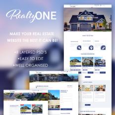 Real Estate PSD Templates