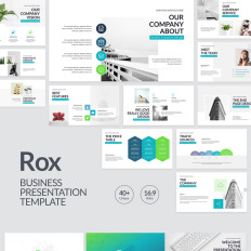 Powerpoint Templates Year In Review Template Monster