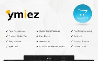 Ymiez Food Store OpenCart Template