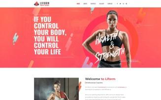 Liform - Crossfit Sport Elementor