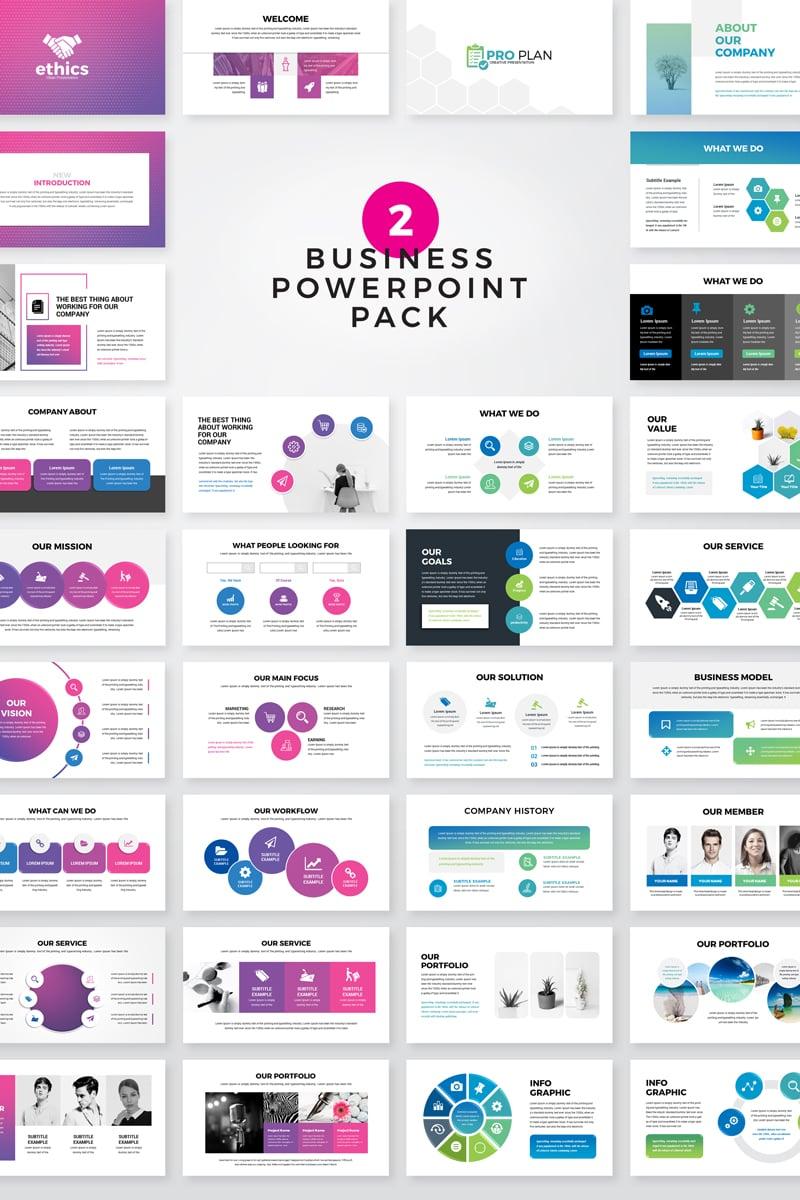 "Plantilla PowerPoint ""Ethice -  Business Pack"" #80520 - captura de pantalla"