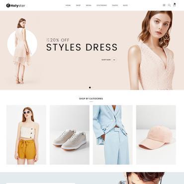 Купить  пофессиональные WooCommerce шаблоны. Купить шаблон #80610 и создать сайт.