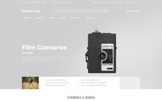 Photo Gun - Electronics Store - D¡ommerce Modern OpenCart Template