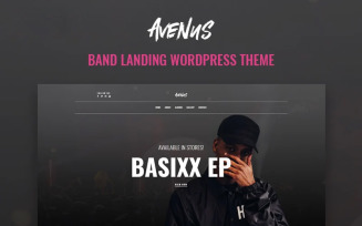 Avenus - Music One Page Modern WordPress Elementor Theme