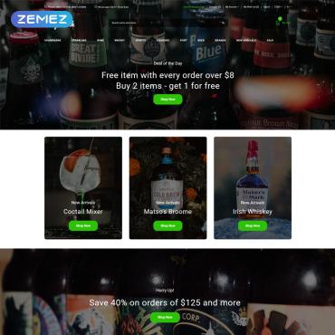 Купить  пофессиональные OpenCart шаблоны. Купить шаблон #80674 и создать сайт.