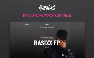 Avenus - Music One Page Modern WordPress Elementor Theme
