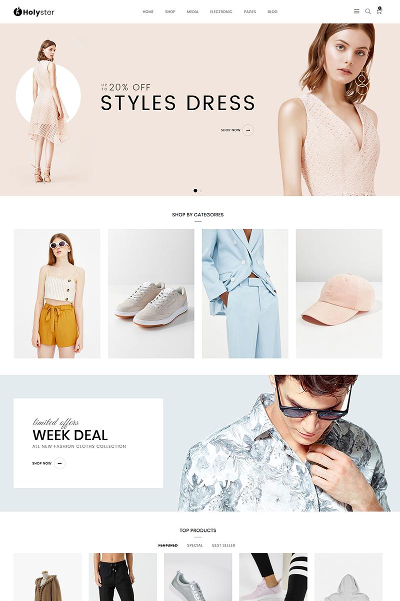 """Holyster - Fashion"" thème WooCommerce adaptatif #80610"