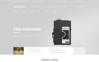 Photo Gun - Electronics Store - D¡ommerce Modern OpenCart Template