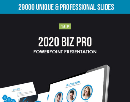 2019 Annual Report PowerPoint Template