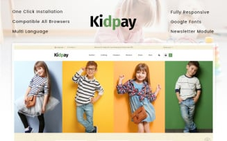 Kidpay - Kids Store OpenCart Template