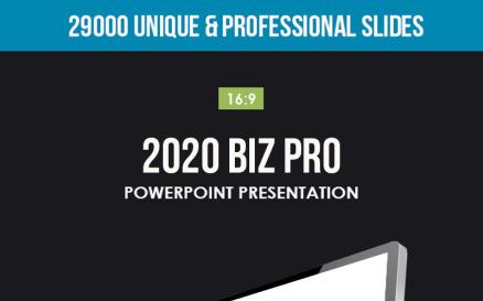 2020 Biz Pro PowerPoint Template