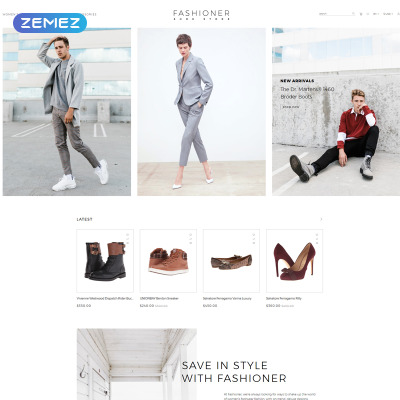 Shoe Store Responsive OpenCart Template