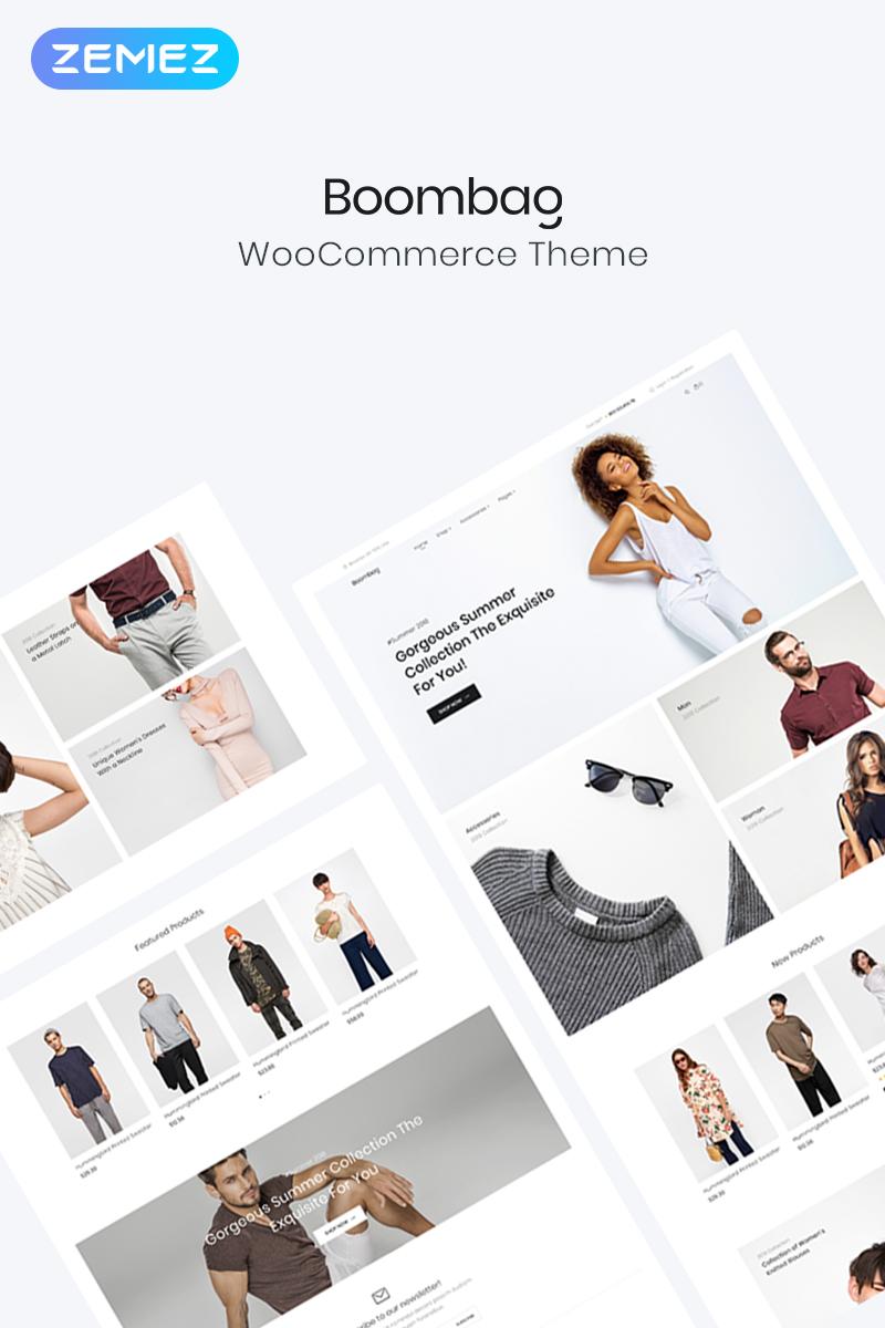 Responsivt Boombag - Apparel ECommerce Modern Elementor WooCommerce-tema #80766
