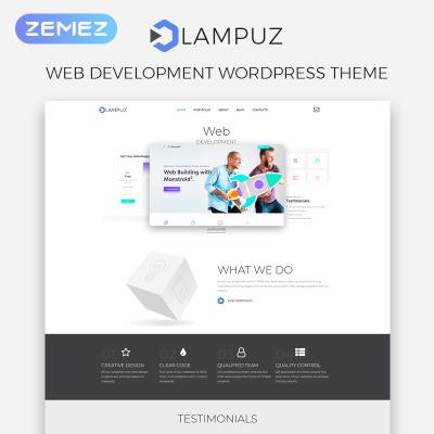 Web Development Responsive WordPress Sablon