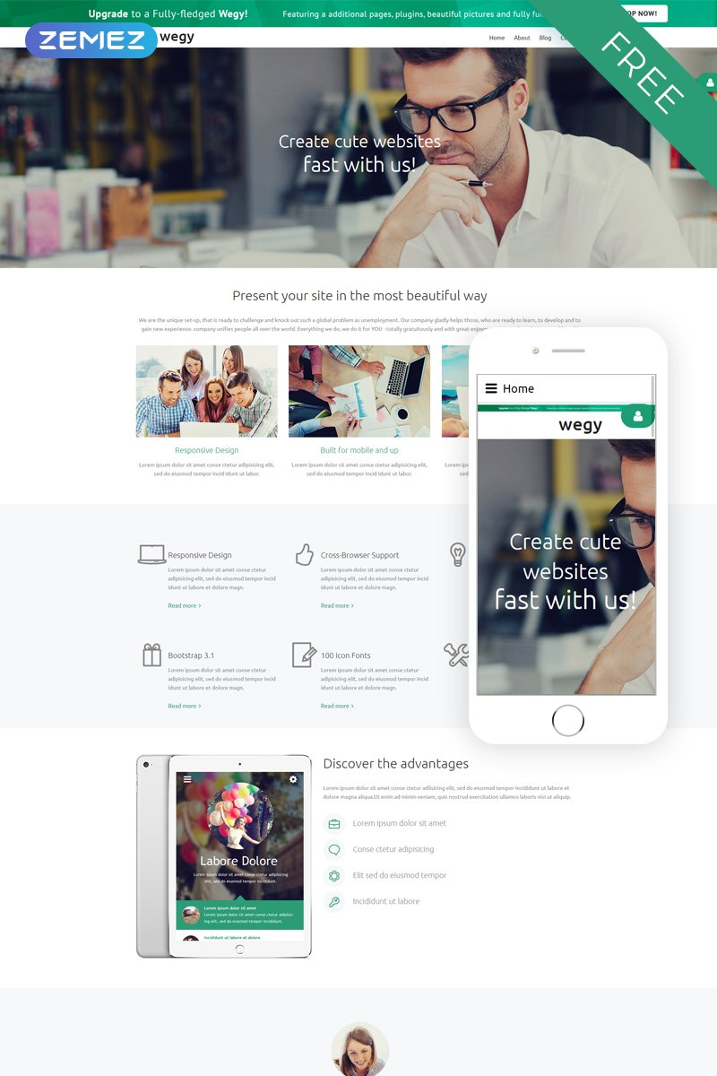Wegy - Consulting Modern Joomla Template
