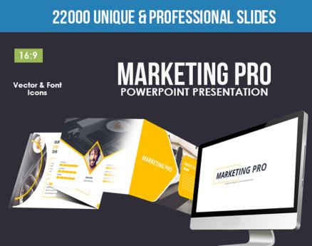 Marketing Pro PowerPoint Template