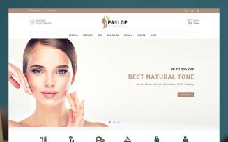 Parlop Constmatics Shop OpenCart Template