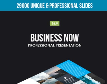 Business Now PowerPoint Template