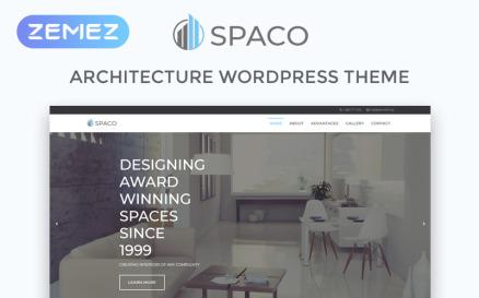 Spaco - Architecture Multipurpose Modern Elementor WordPress Theme