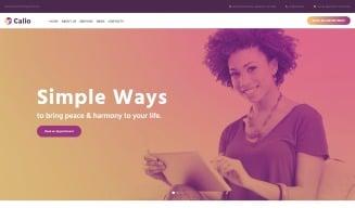 Calio - Psychology Multipurpose Modern WordPress Elementor Theme