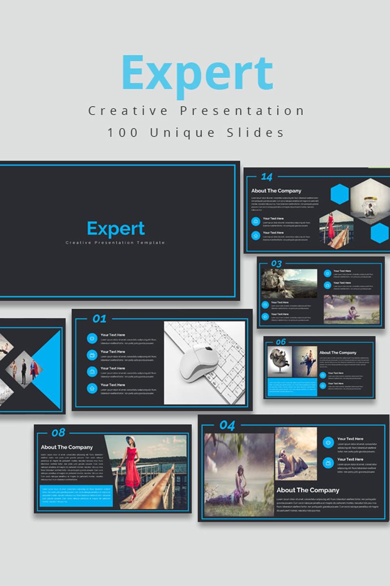 """""""Expert"""" PowerPoint Template №80824"""