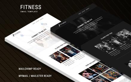 Fitness - Responsive Newsletter Template