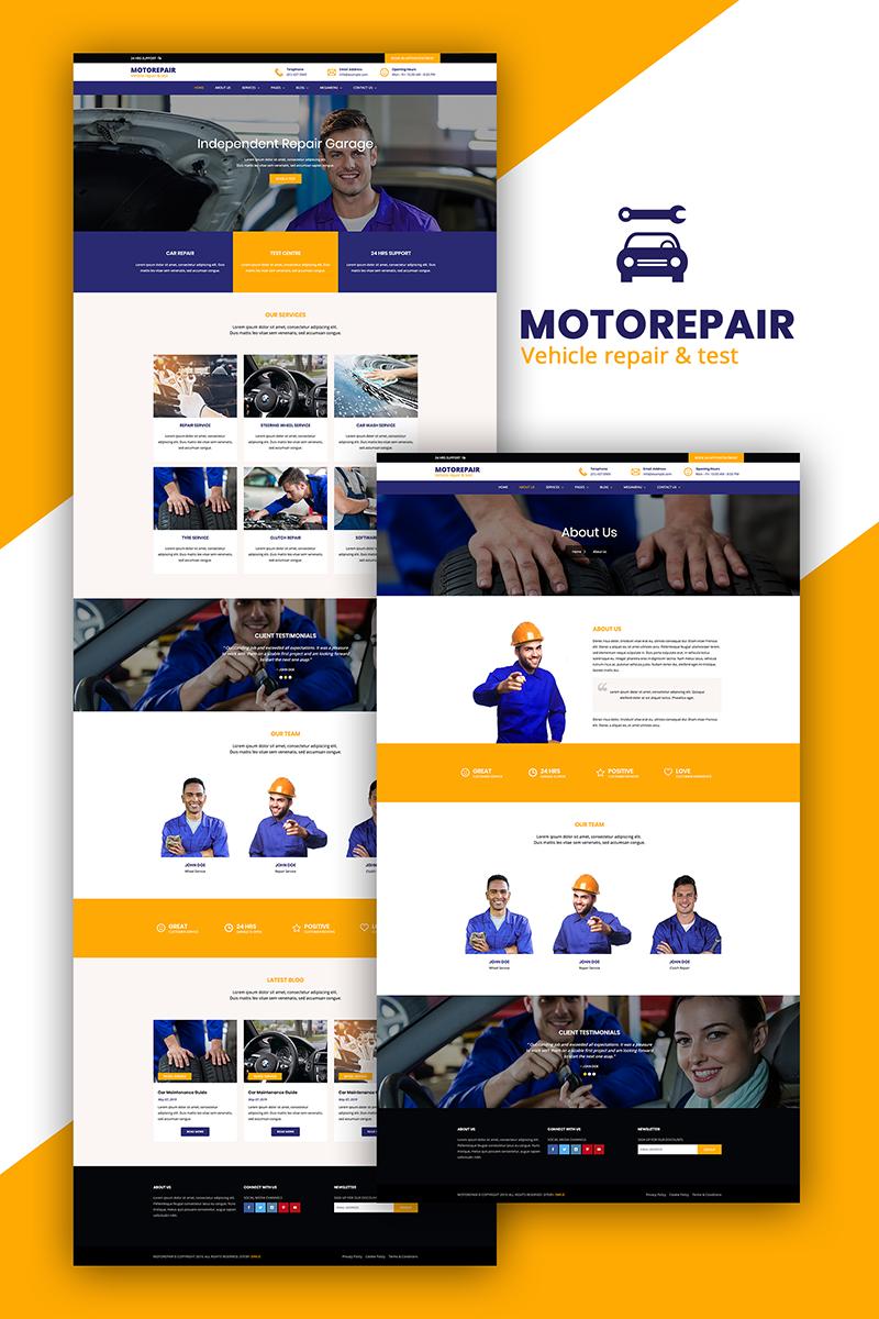 Motorepair - Car Repair Responsive Multipurpose Website Template - screenshot