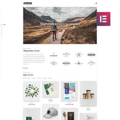 Responsive Tema De WordPress #80877 para Sitio de  para Sitio de Diseño Web