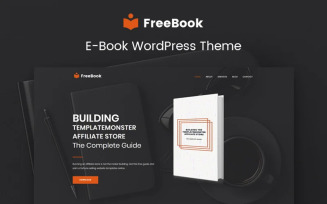 FreeBook - Ebooks Multipurpose Modern WordPress Elementor Theme