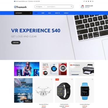 Купить  пофессиональные WooCommerce шаблоны. Купить шаблон #80989 и создать сайт.