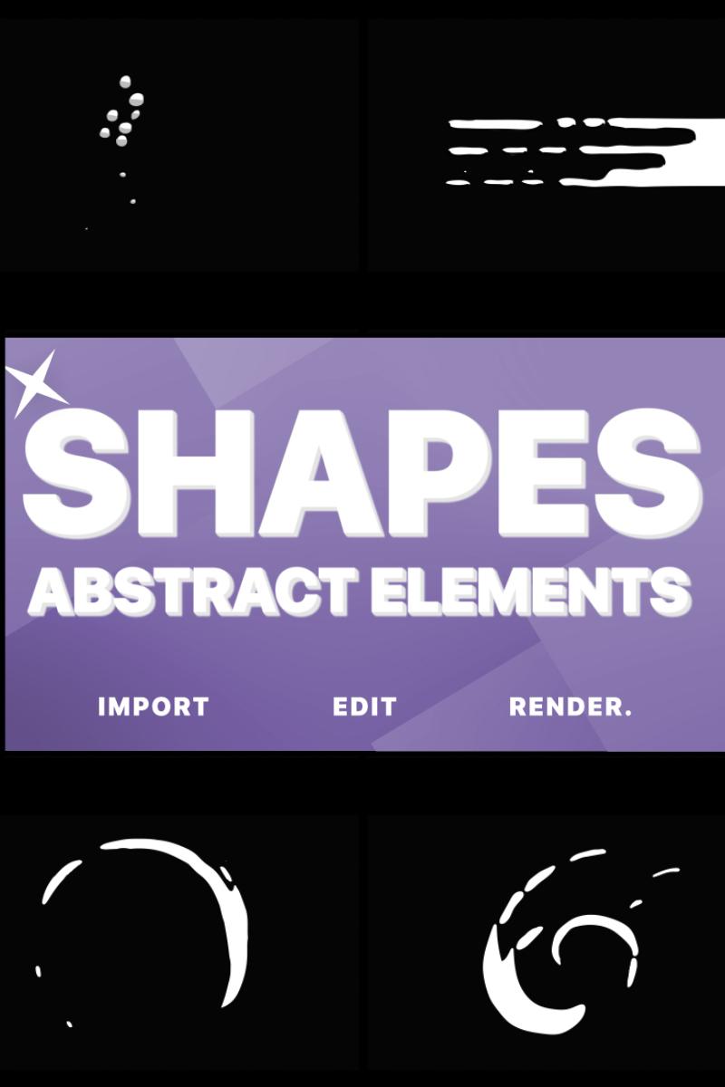 Funny Abstract Shapes After Effects com Introdução №80991 - captura de tela