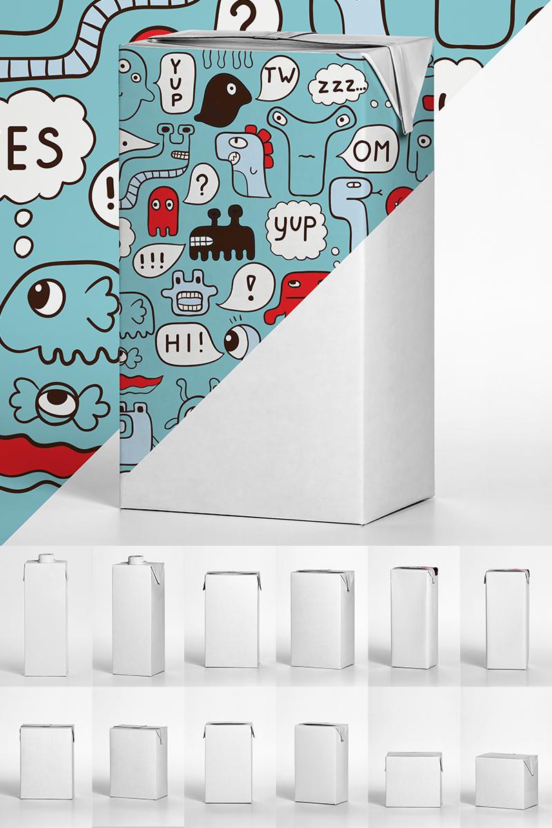 Juice Box Pack Product Mockup - screenshot
