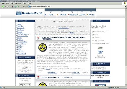 Шаблон для сайта (8101)