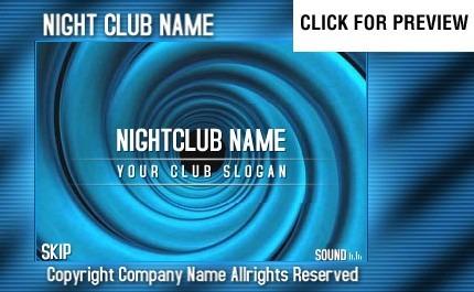 Flash Intro Vorlage für Nachtclub  FLASH INTRO SCREENSHOT