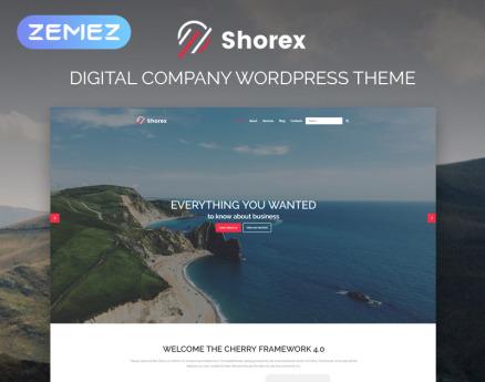 Shorex - Digital Multipurpose Modern Elementor WordPress Theme