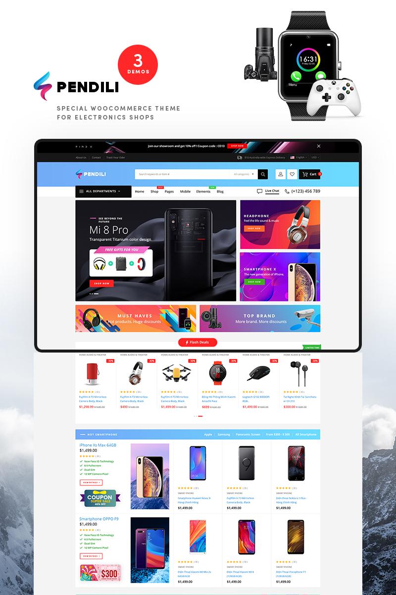 Pendili - Electronics Store WooCommerce Theme