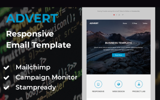 Advert - Responsive email template