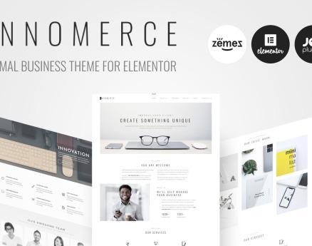 Innomerce - Business Multipurpose Minimal Elementor WordPress Theme