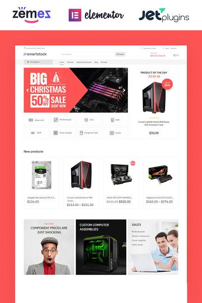 Smartstock - Electronics ECommerce Classic Elementor