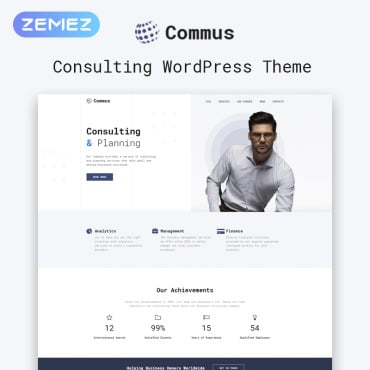 Купить  пофессиональные WordPress темы. Купить шаблон #81209 и создать сайт.