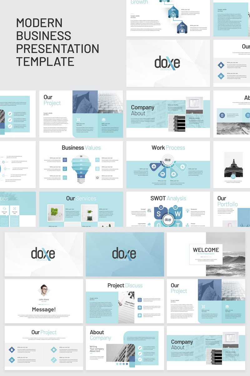 Doxe - Business PowerPoint Template