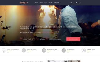 Roasty - Steakhouse -Modern Joomla Template