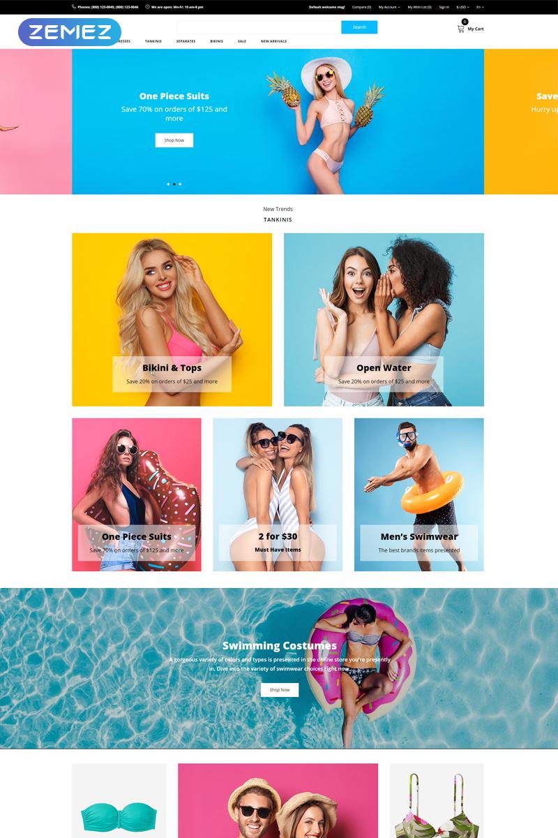 Broon - Swimwear Store Modern OpenCart Template