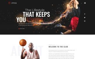 Ippos - Sport Multipurpose Modern WordPress Elementor Theme