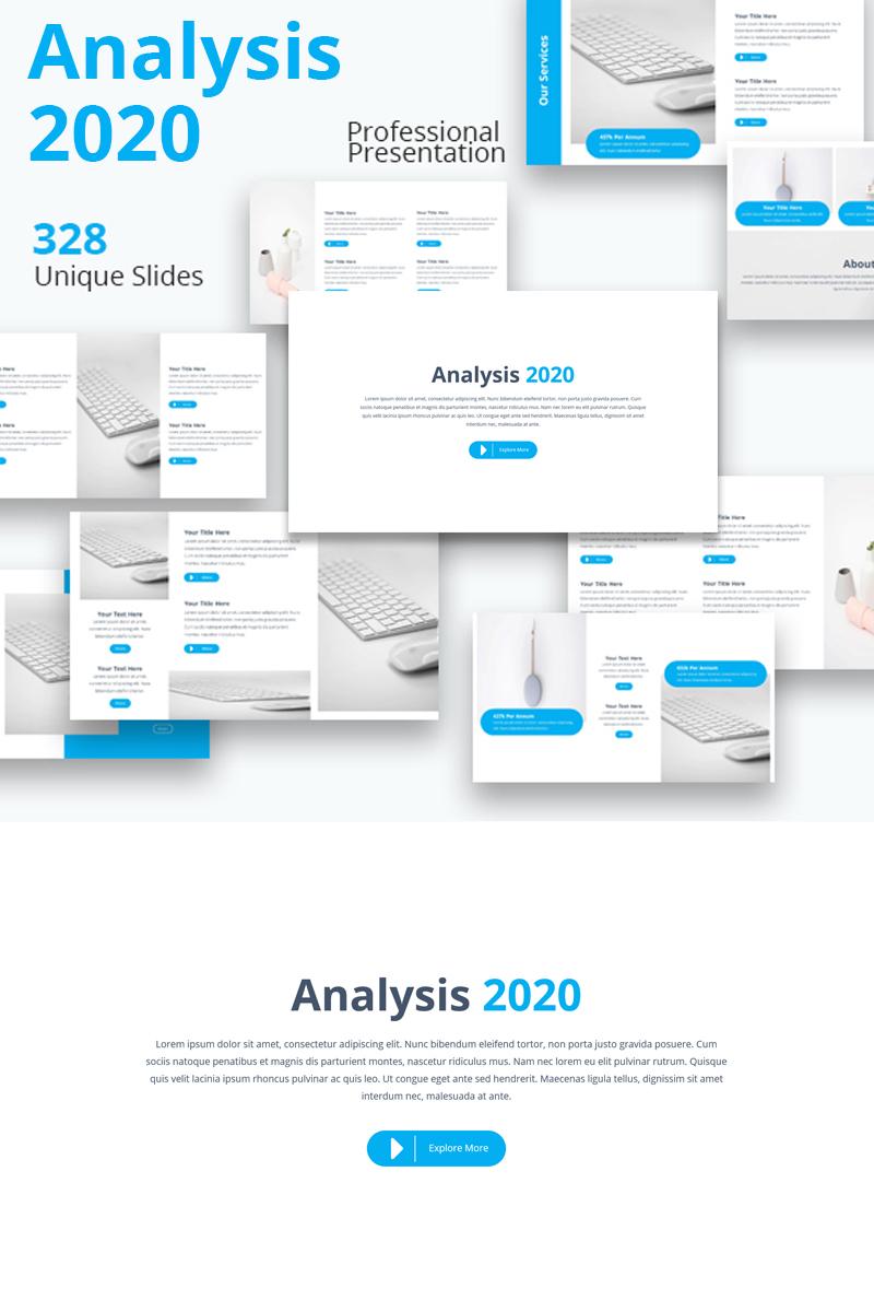 """Šablona pro Keynote """"Analysis 2019"""" #81498"""