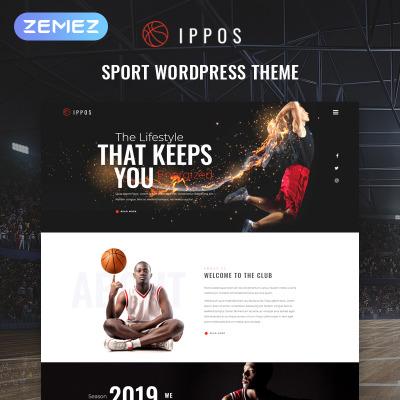 Responsive Tema De WordPress #81470 para Sitio de  para Sitio de Baloncesto