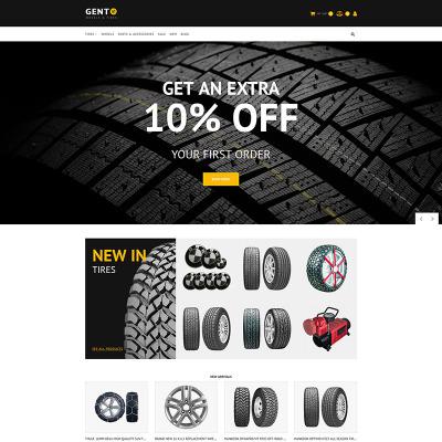 Tires Templates | Wheels Templates | TemplateMonster
