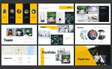"""""""Lemon Art 7-in-1 PPT Design"""" PowerPoint Template"""