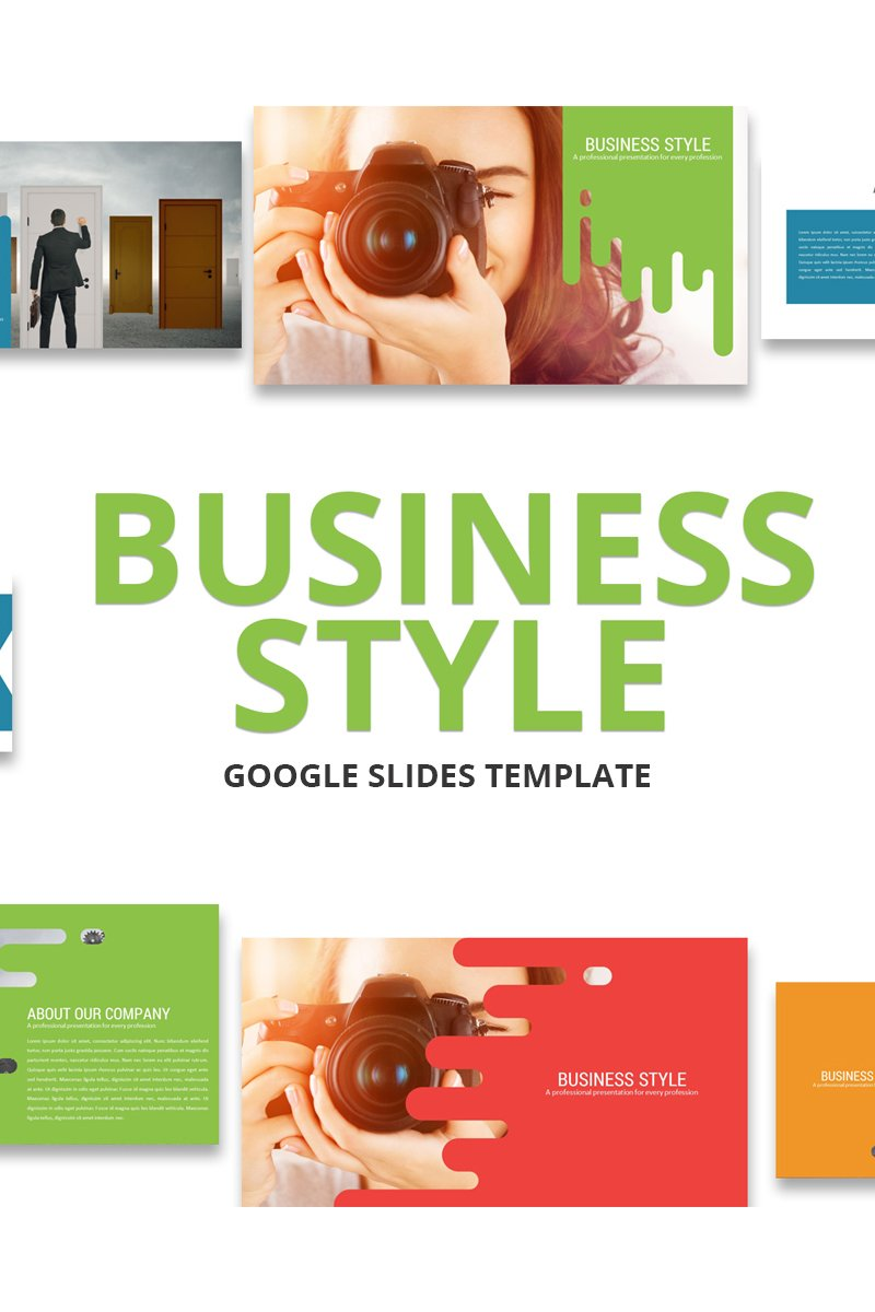 Business Style Google Slides