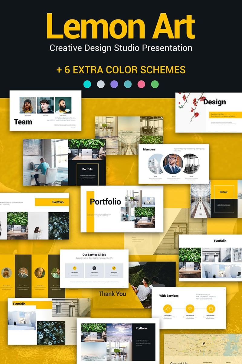 Lemon Art 7-in-1 PPT Design PowerPoint Template